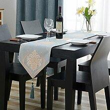 Tisch boxen european style tv-schrank essen tischtuch kaffee tisch dekoration -B 32x180cm(13x71inch)