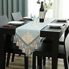 Tisch boxen european style tv-schrank essen tischtuch kaffee tisch dekoration -C 32x240cm(13x94inch)