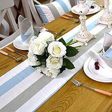 Tisch boxen european style tv schrank tischtuch kaffee tisch dekoration tuch-A 33x220cm(13x87inch)