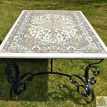 Tisch-Esszimmer Teppich Perser
