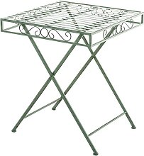 Tisch Funda -antik/grün