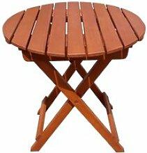 Tisch HANFORD, rund, klappbar