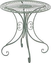 Tisch Hari-antik_grün
