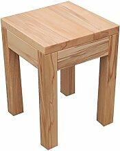 Tisch Hocker Holztisch Beistelltisch Kernbuche