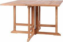 Tisch Kent - Gartentisch - eckig/rund - klappbar -