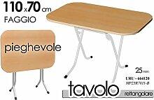 Tisch Klapptisch 110x 70Holz Buche Struktur