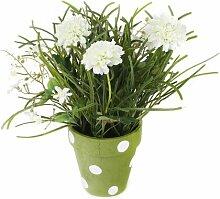 Tisch-Kunstpflanze Chrysantheme im Topf Brambly