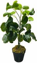 Tisch-Kunstpflanze Zierpflanze im Topf Geko