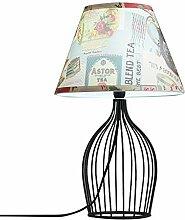Tisch- & Nachttischlampen Nordic Schmiedeeisen