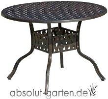 Tisch Nexus rund ab ca. Ø 80 cm Aluguss von Inko