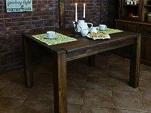 Tisch Rustikal 24 massiv braun - Abmessung: 78 x 140 x 90 cm (H x B x T)