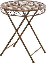 Tisch Sulu -antik/braun