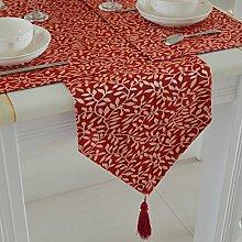 Tisch/Tisch/Tischdecke decke/Bett Renner/Tischdecke decke/Abdeckung Tuch-A 30x210cm(12x83inch)