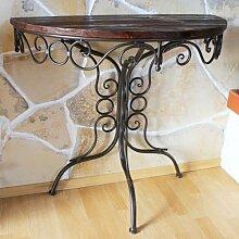 Tisch Wandtisch HX12582 Beistelltisch aus Metall