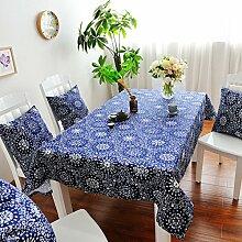 Tisch Zubehör Fall, coliang Baumwolle Retro