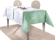 Tischdecke 1 80x80 cm, Mitteldecke grün