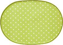 Tischdecke 1, 80x80 cm Mitteldecke grün