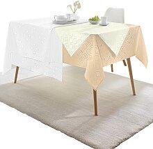 Tischdecke 1 80x80 cm Mitteldecke weiß