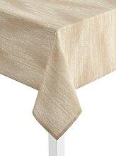 Tischdecke 1 90x90 cm, Mitteldecke braun