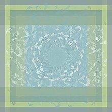 Tischdecke 175x175, hellblau ENVOLÉE - (31425)