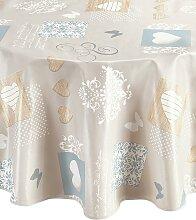 Tischdecke 2, 110x140 cm braun Tischdecken