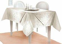 Tischdecke 4 130x220 cm beige Tischdecken