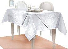 Tischdecke 4 130x220 cm weiß Tischdecken