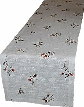 Tischdecke 40x160 cm eckig Plauener Spitze