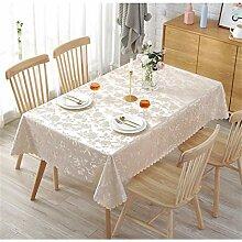 Tischdecke Abwaschbar, DOTBUY Europäischer Stil