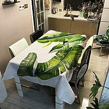 Tischdecke Abwaschbar für Speisetisch, Morbuy 3D