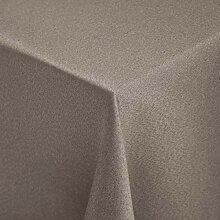 Tischdecke Ambita Glatt quadratisch, 130x130 cm