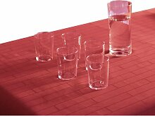 Tischdecke Ardelle Ebern Designs Farbe: Rot