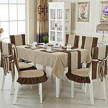 Tischdecke Art Baumwolle und Leinen Rechteckig