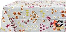 Tischdecke aus 100% Baumwolle Fantasie Milly