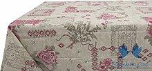 Tischdecke aus 100% Baumwolle Position Emy 140x240