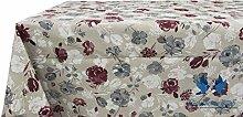 Tischdecke aus 100% Baumwolle Position Pink 140x180 bordeaux