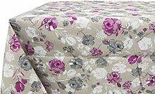 Tischdecke aus 100% Baumwolle Position Pink