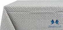 Tischdecke aus 100% Baumwolle Position Polly 140x240 Taupe