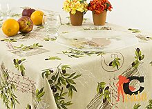 Tischdecke aus 100% Baumwolle Position Salo 90x90