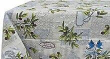 Tischdecke aus 100% Baumwolle Position Sirmione 140x240 grau