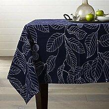 Tischdecke Aus Baumwoll-Polyester, Rechteckige,