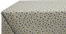 Tischdecke aus Baumwolle Fantasie Gaia 140x240 blau
