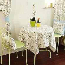 Tischdecke Aus Baumwolle Leinen Quadratisch Kleine