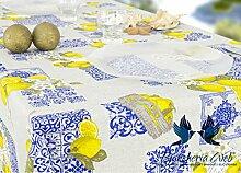 Tischdecke aus Baumwolle Position Zitronen 140x240