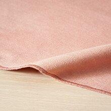 Tischdecke aus Baumwolle, rosa 150x250