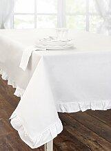 Tischdecke aus Baumwolle, Tischtuch Tafeltuch mit