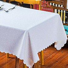 Tischdecke aus Baumwolle und Leinen, wasserdicht