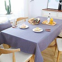 Tischdecke aus Baumwollleinen,