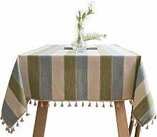 Tischdecke aus Leinenoptik mit hochwertiger