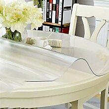 Tischdecke aus PVC, warmes Öl, wasserdicht, matt,